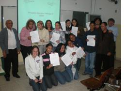 Voluntários itinerantes da Escola Hadla Feres